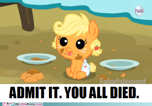 applejack cute hnng
