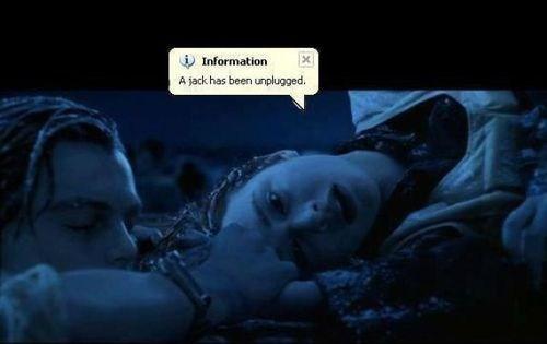 titanic,unplug,jack,information