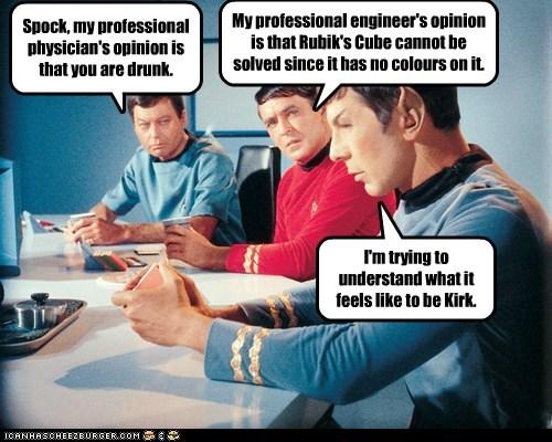 scotty McCoy drunk Spock DeForest Kelley kirk Leonard Nimoy Star Trek james doohan stupid - 6906291968