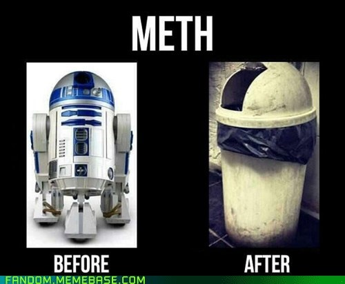 r2d2,star wars,meth