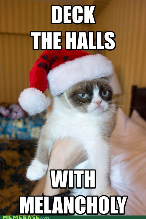 tardar sauce Deck the Halls jingle memes Grumpy Cat - 6906529280