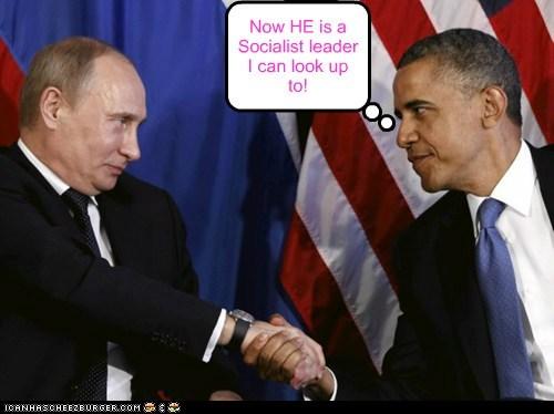 russia Democrat barack obama potus Putin - 6906545152