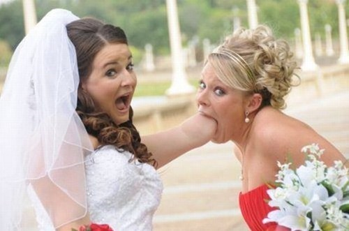 bride mouth arm stump weird