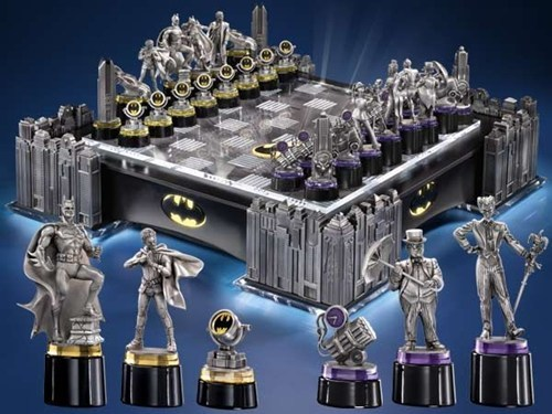 comic books nerdgasm chess superheroes batman g rated win - 6906778112
