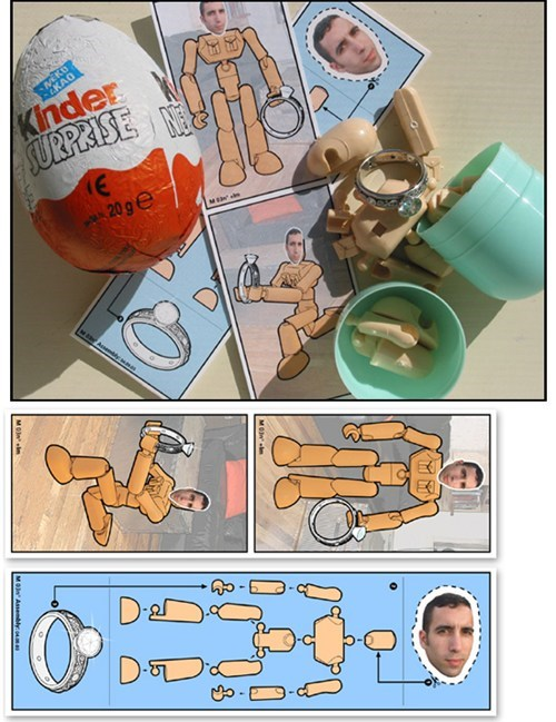 toy,proposal,surprise,ring,chocolate,kinder egg