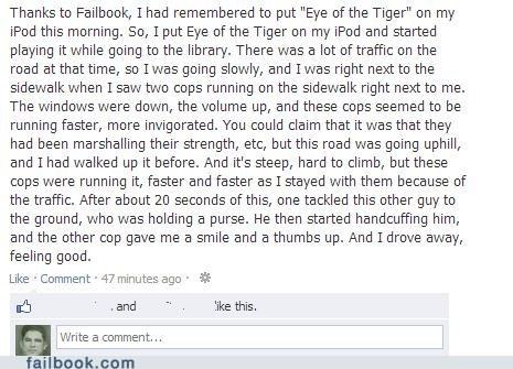 cops survivor failbook eye of the tiger g rated - 6906892800