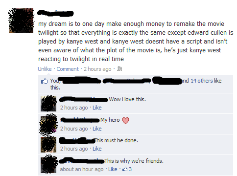 facebook,kanye west,twilight