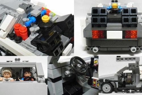 lego back to the future nerdgasm - 6906988288