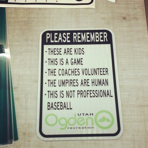 signs,little league,baseball,g rated,Parenting FAILS