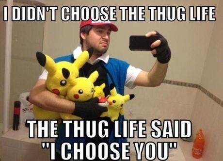 Pokémon pikachu thuggest self poortraits - 6907103488