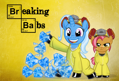 breaking bad art babs crossover - 6907344128