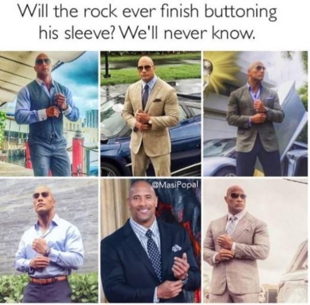 dwayne the rock johnson memes