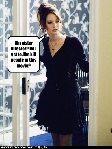 question kill people director silver linings playbook Movie jennifer lawrence - 6909123840