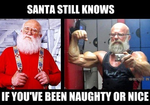 Santa Bro is Coming to the Gym