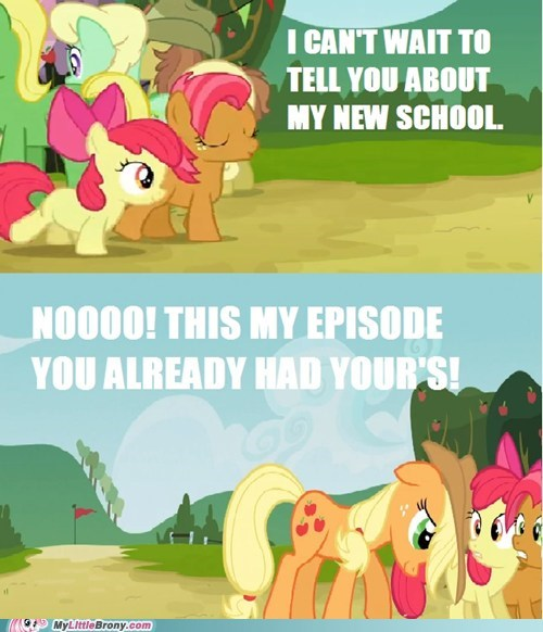 applejack,apple family reunion,babs,get outta here