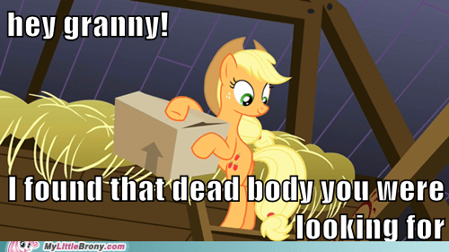applejack family reunion dead body family