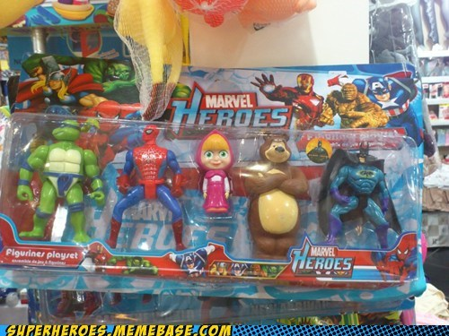 toys awesome bear avengers - 6909490432