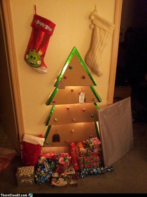 christmas tree,cardboard christmas tree,ikea