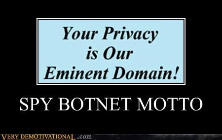 SPY BOTNET MOTTO