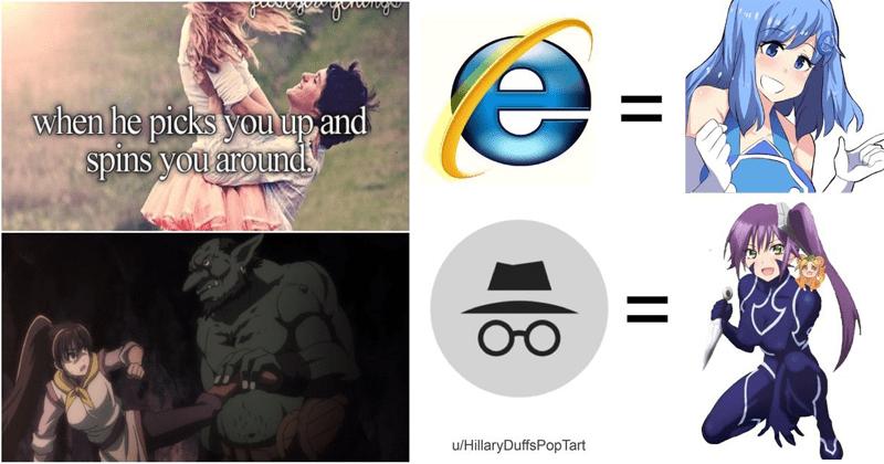 Funny anime memes.