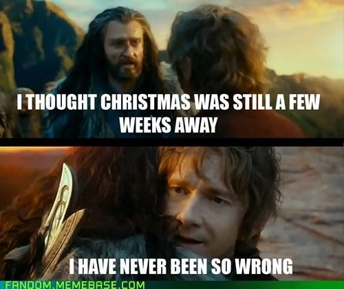 christmas Sudden Change of Heart Thorin jingle memes The Hobbit - 6911093248