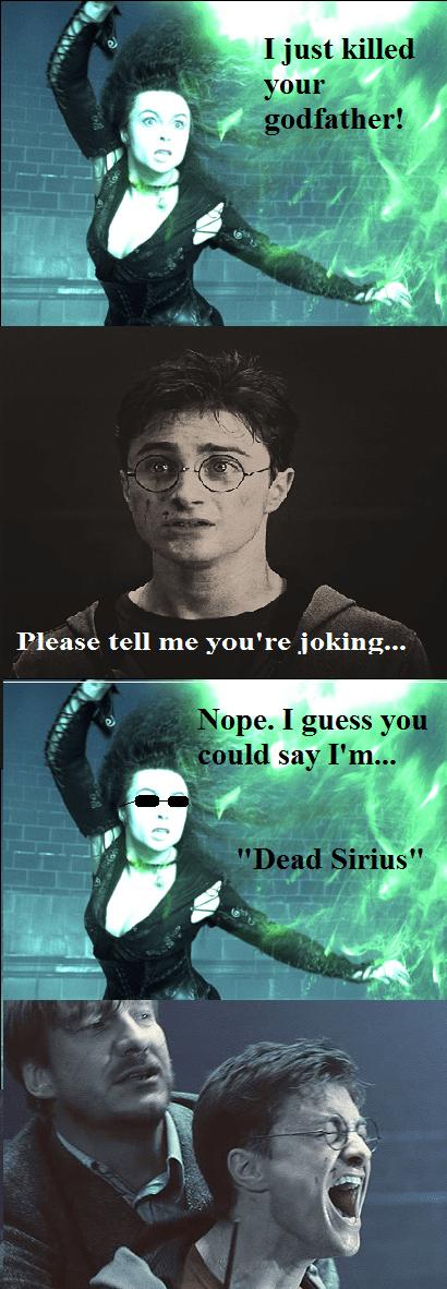 Harry Potter puns bellatrix lestrange - 6911114496