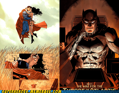 voyeur,wonder woman,off the page,batman,superman