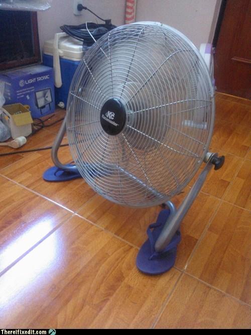 flip flops fan