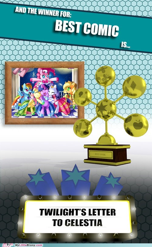 mlbrony awards mlbrony comics MLBrony of the year awards - 6911922432