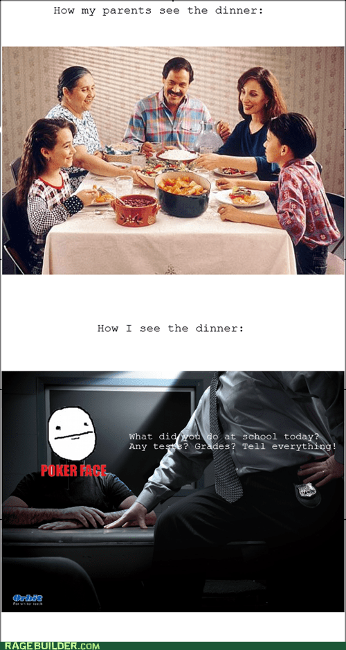 dinner,family dinner,parents