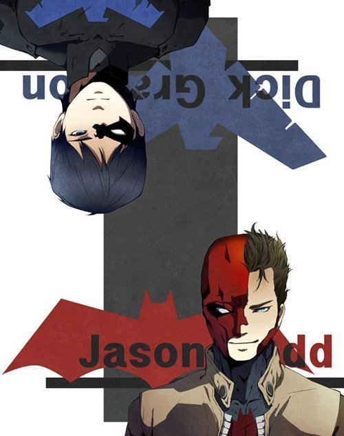 red hood art robin batman - 6912297472