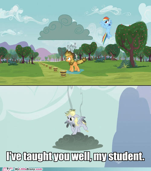 clouds,derpy hooves,what went wrong,rainbow dash