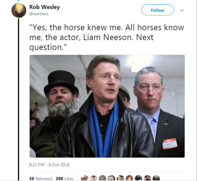 liam neeson Movie film horse recognize - 6912773