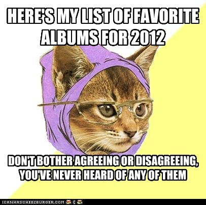 Hipster Kitty's 2012 Favorites