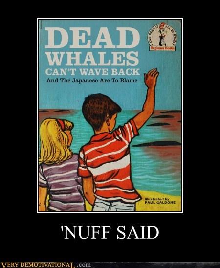 nuff said,dead whale,Japan