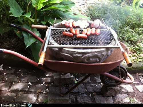 barbecue hot dogs grill bbq