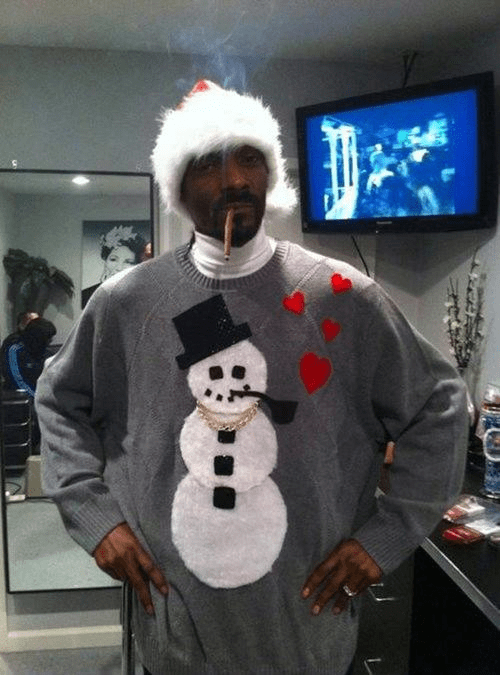 christmas sweaters snoop dogg - 6915461120