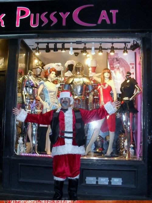 sketchy christmas santa funny holidays - 6915517952