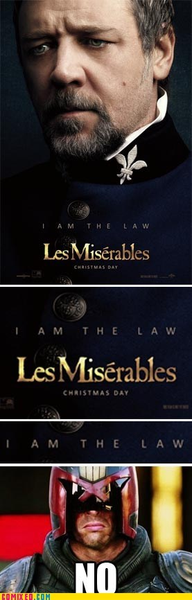 Movie,judge dredd,Les Misérables,law