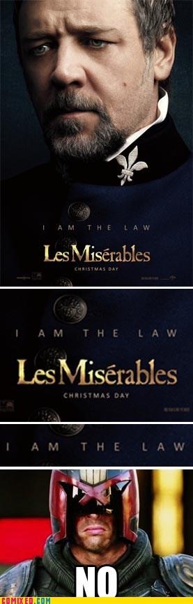 Movie judge dredd Les Misérables law - 6915628544
