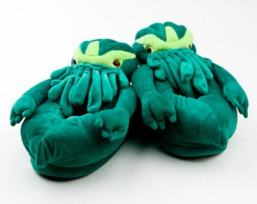 cute slippers cthulhu g rated win