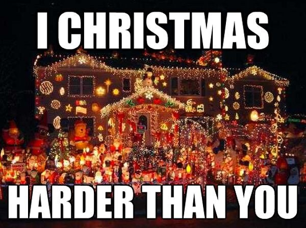 jingle memes,christmas lights