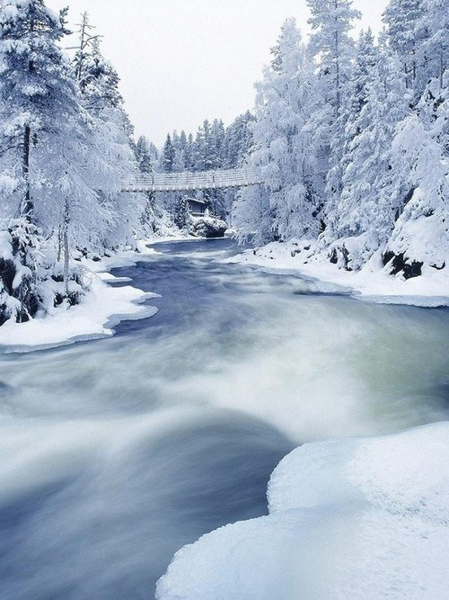 river,snow,ice,winter