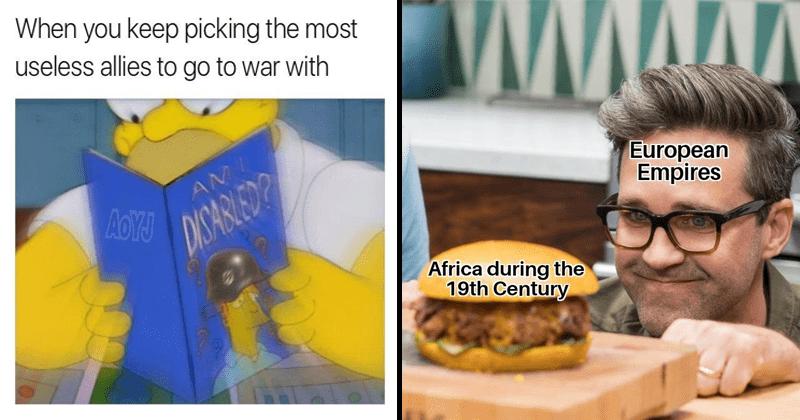 dank memes, history memes, fake history