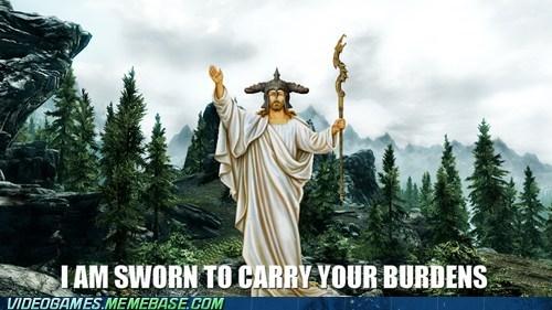 jesus,restoration,companion,Skyrim