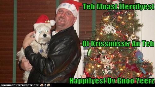 Teh Moast Merrilyest  Of Krissmissiz An Teh Happilyest Ov Gnoo Yeerz