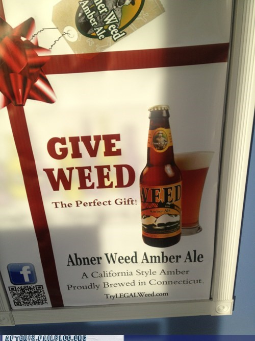 amber ale perfect gift weed - 6918011648