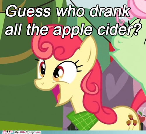 Or is it just Derpy effect?