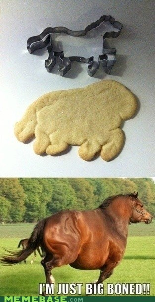 cookies big boned horse - 6918219264