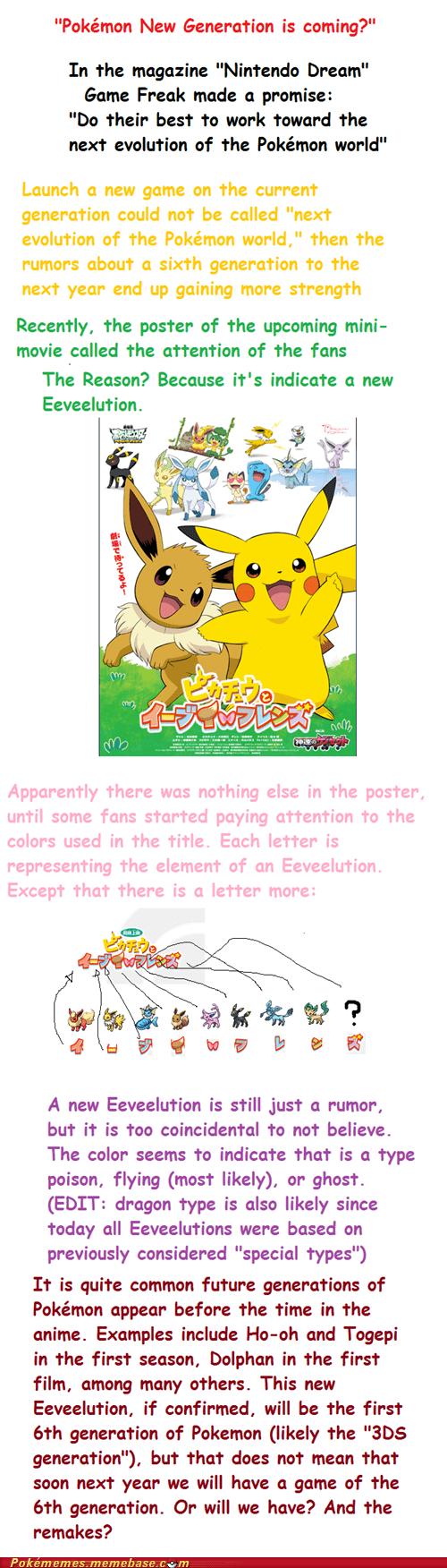 new pokemon gen VI eevee eeveelution - 6918260736